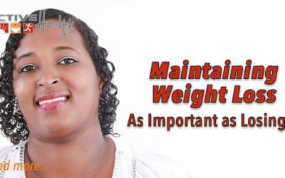 Maintaining Weight Loss as Important as Losing
