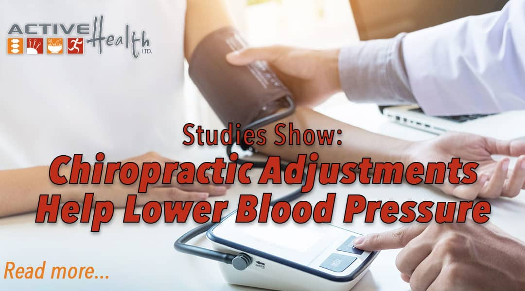 Chiropractic Adjustments Found to Help to Reduce Blood Pressure