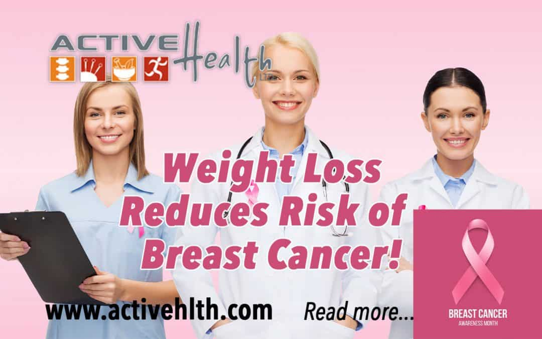 weight loss breast cancer