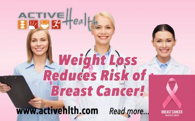 Researchers study weight loss to reduce breast cancer!