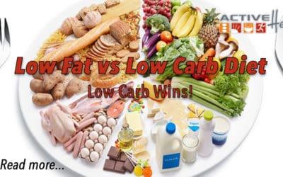 Low Fat vs Low Carb Diet Debate  — Low Carb wins by a landslide.
