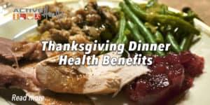 thanksgiving health benefits