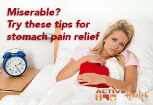 natural stomach pain relief