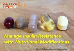 manage insulin resistance