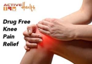 drug free knee pain relief