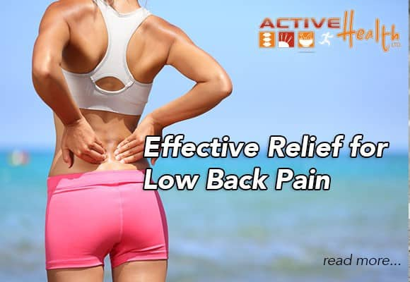 Manual Spine Manipulation: Effective Option for Low Back Pain Relief