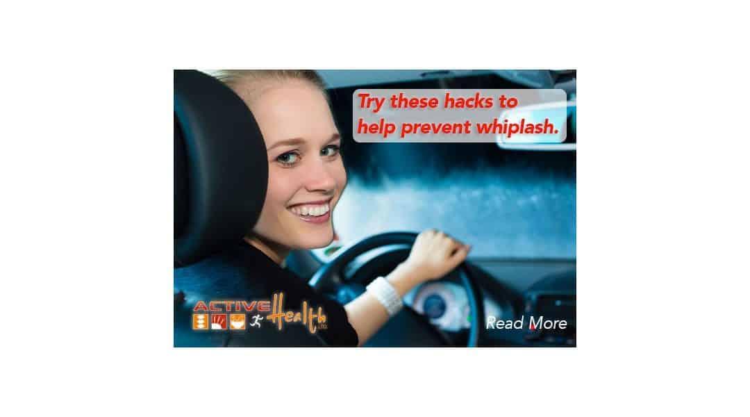 Proper Headrest Position to Prevent Whiplash