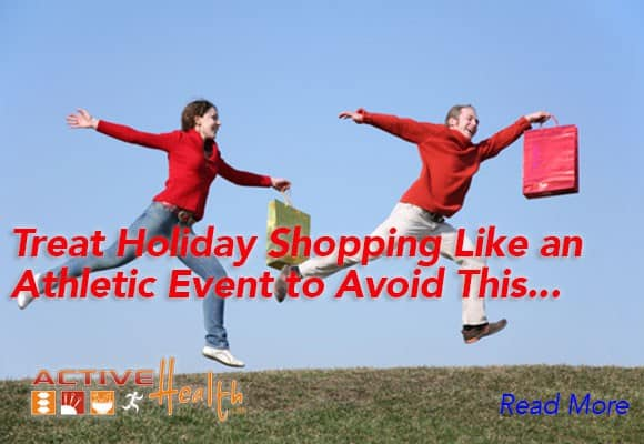 Holiday Shopping Shouldn't Be a Pain in the Neck…or Back