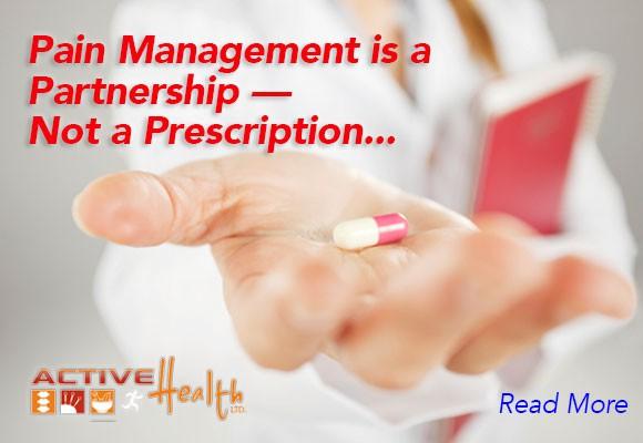 pain management not prescription