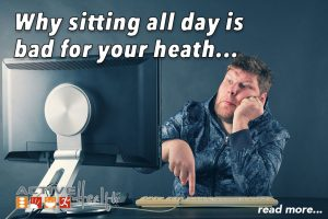 sitting bad for health