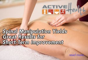 spinal manipulation for pain relief