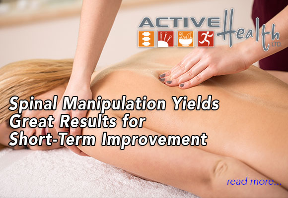 Spinal Manipulation Yields Great Results for Short-Term Improvement