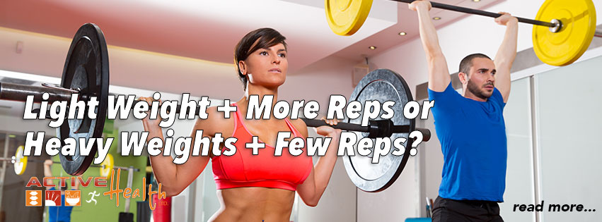 Diet and Exercise Tip of the Month (Lifting Weights)