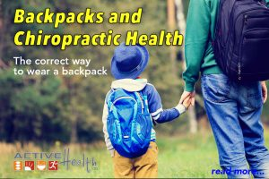 backpack safety back neck pain children