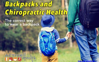 Backpack Safety and Chiropractic Health