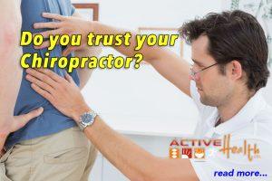 trust your chiropractor