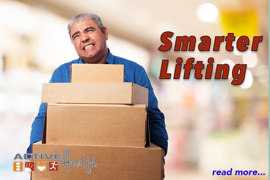 Smart Lifting Heavy Loads