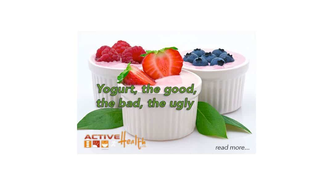 Yogurt, the Good, the Bad and the Ugly