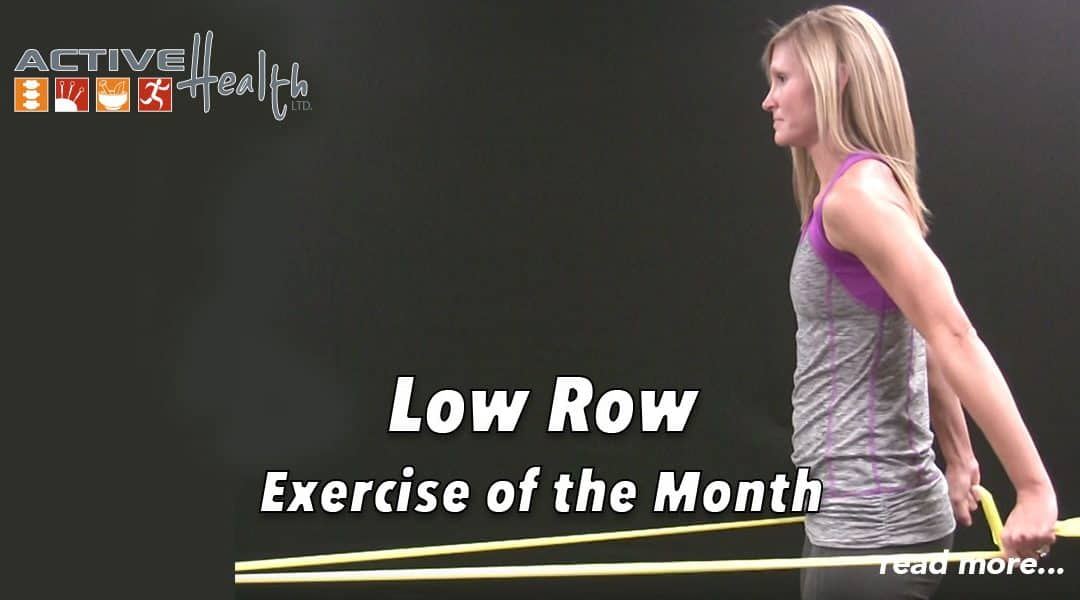 Exercise of the Month – (Low Row)