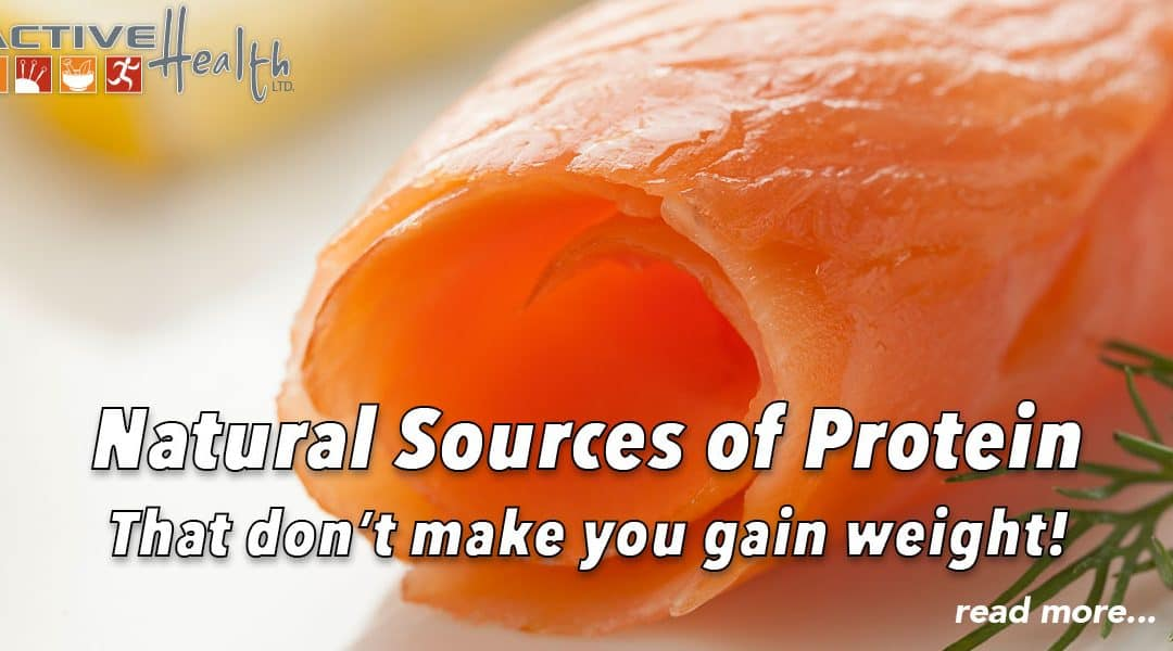 Natural Sources of Protein that Don't Make You Gain Weight