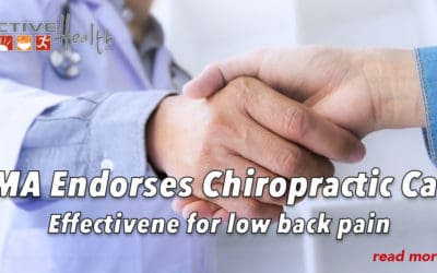 American Medical Association Endorses Chiropractic Care