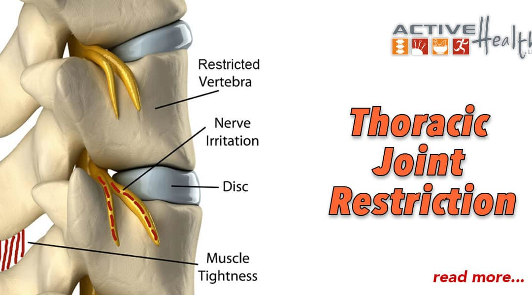 Condition of the Month – (Thoracic Joint Restriction)