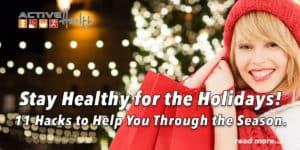 holiday health hacks