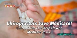 chiropractors save medicare expenditures