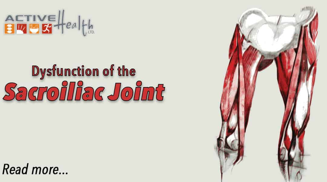 Condition of the Month: Sacroiliac Joint Dysfunction