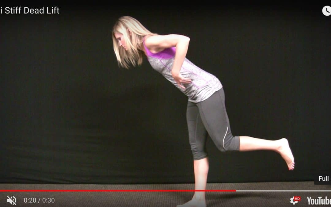 Exercise of the Month – (Semi-Stiff Dead Lift)