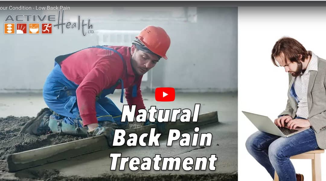 Natural Low Back Pain Treatment