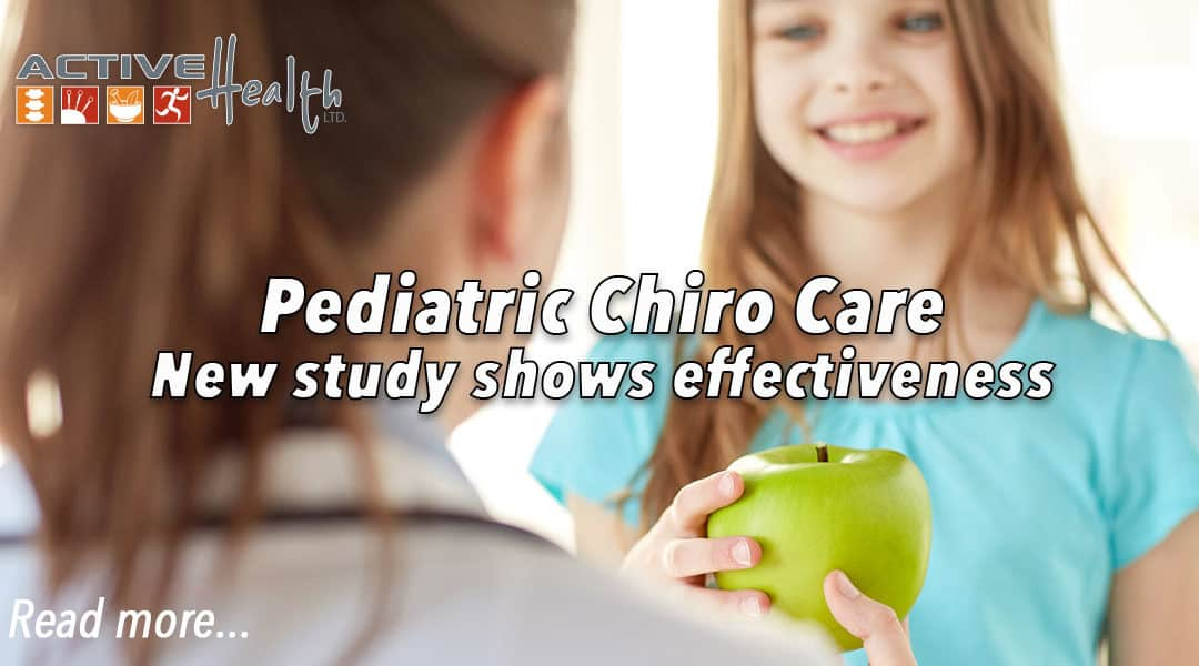 Chiropractic Care for Pediatric Patients