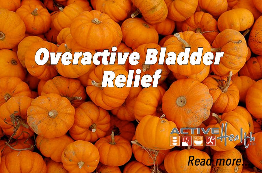 Holistic Relief from Overactive Bladder Syndrome