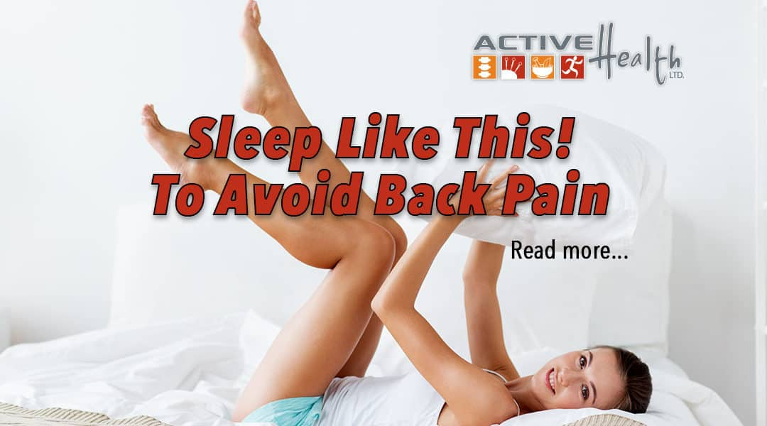 Sleep Like This to Avoid Back Pain