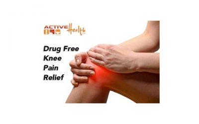 Osteoarthritis Knee Pain? Drug Free Pain Relief