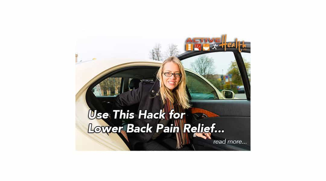 Living with Lower Back Pain – A Helpful Tip