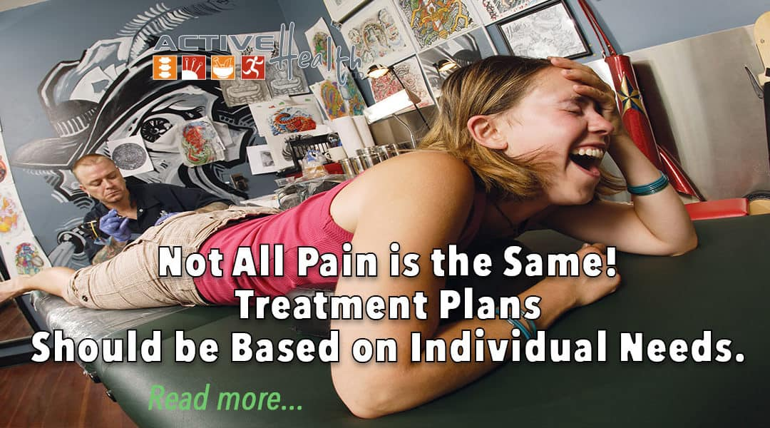 Not All Pain is the Same