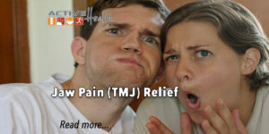 tmj jaw pain relief