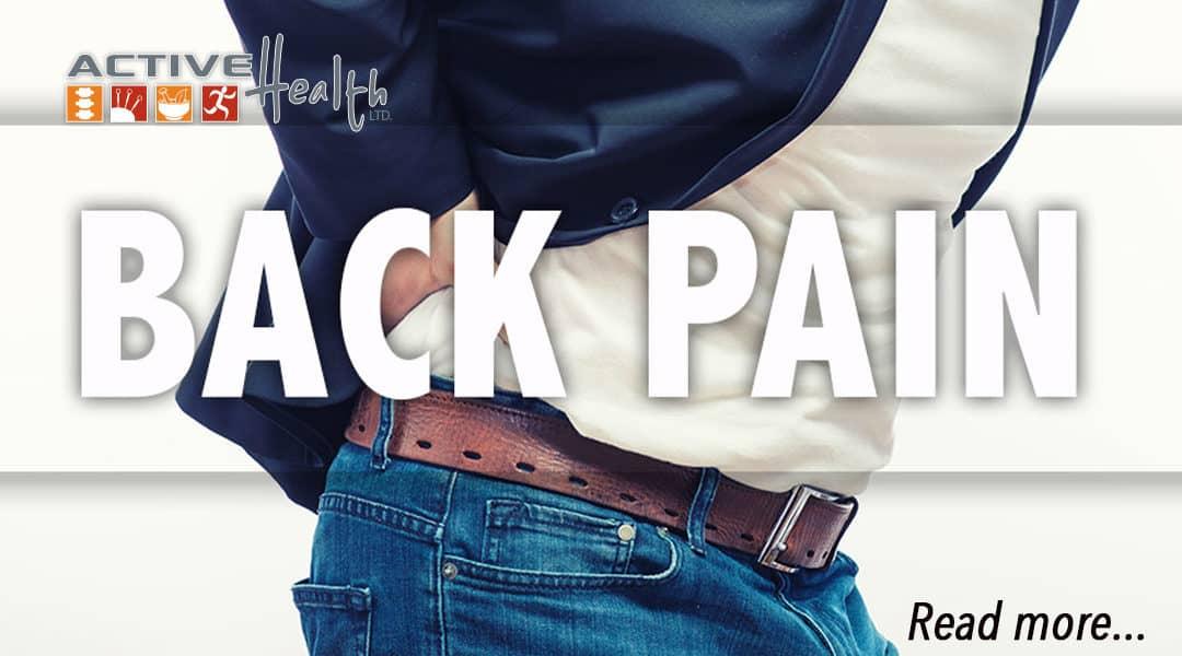 Lower Back Arthritis