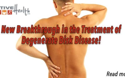 New Therapy Helps Degenerative Disk Disease Sufferers