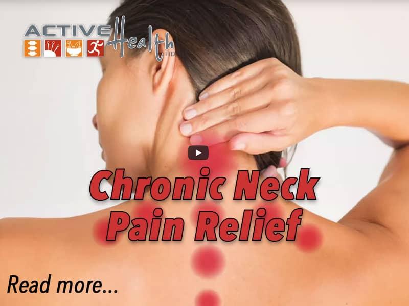 Chronic Neck Pain Relief