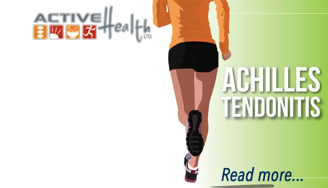 Spring is the Time for Achilles Heel Pain