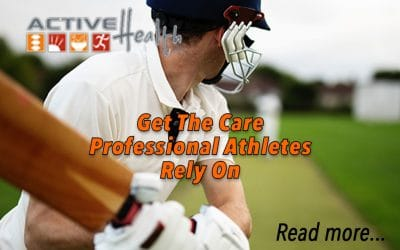 Get The Care Professional Athletes Rely On