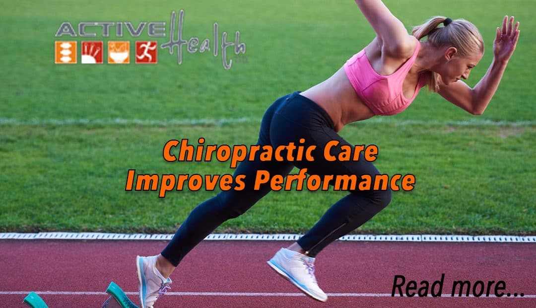 Chiropractic Care Improves Performance