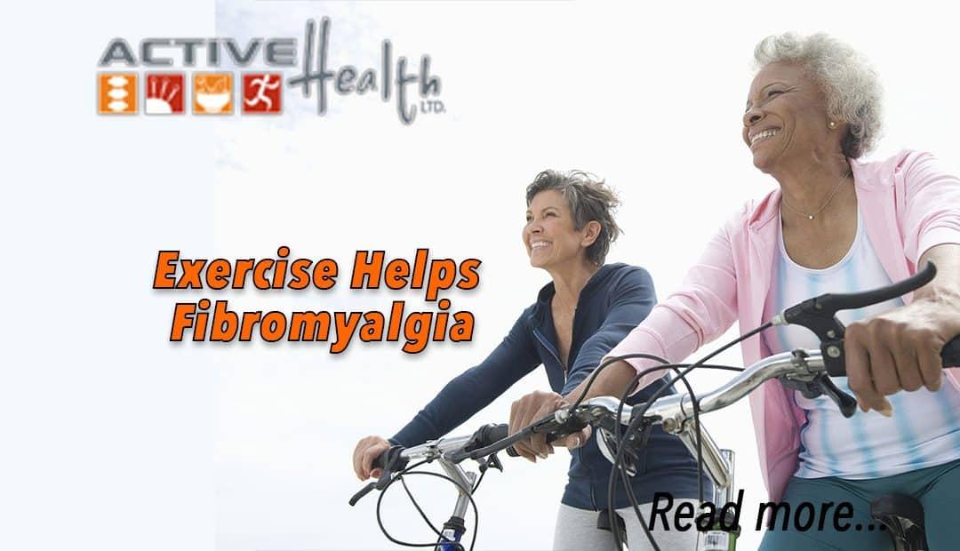 Exercise Helps Fibromyalgia Pain