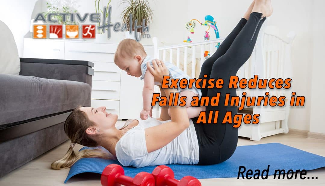Exercise Reduces Falls and Injuries
