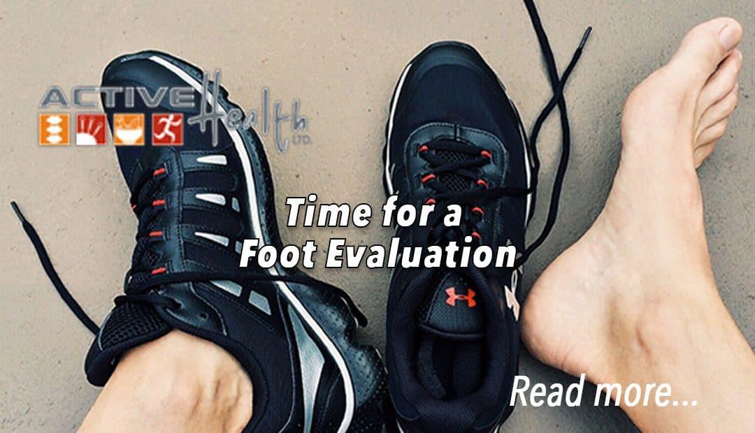 flat feet foot evaluation