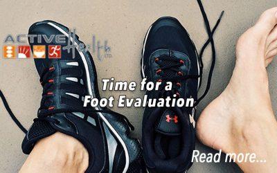 Foot Evaluation – Flat Feet