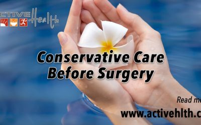 Avoiding Back Surgery with Conservative Care