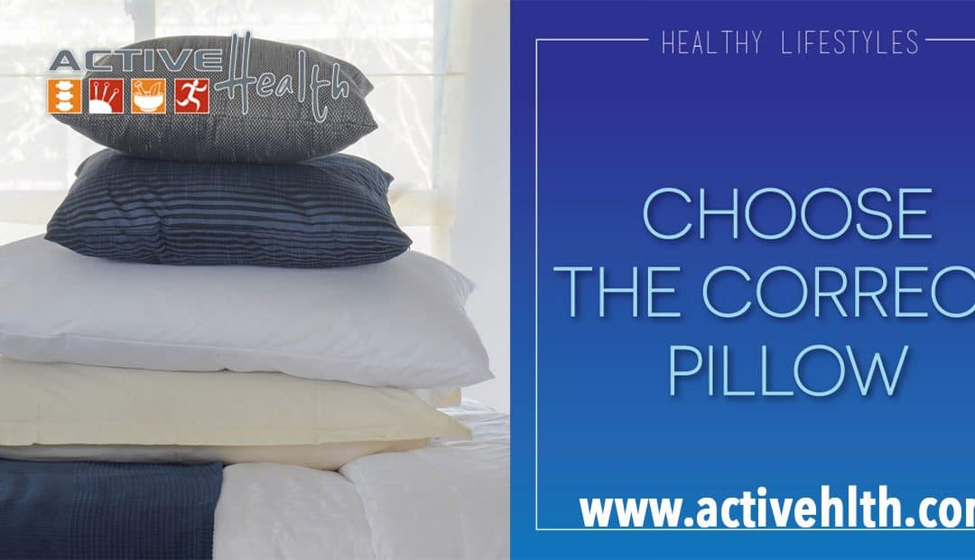 Waking Up With Neck or Back Pain? Choose Correct Pillow